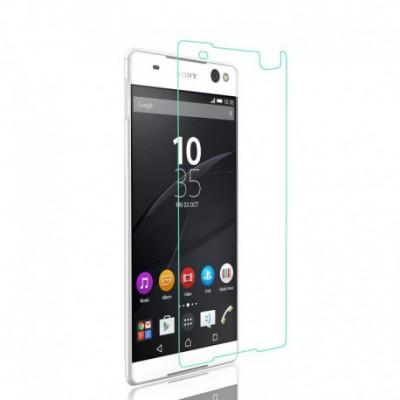 [3 Stück] Svoyon Premium Glasfolie für Sony Xperia C6 Schutzglas 9H Tempered Glass