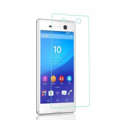 [3 Stück] Svoyon Premium Glasfolie für Sony Xperia M5 Schutzglas 9H Tempered Glass
