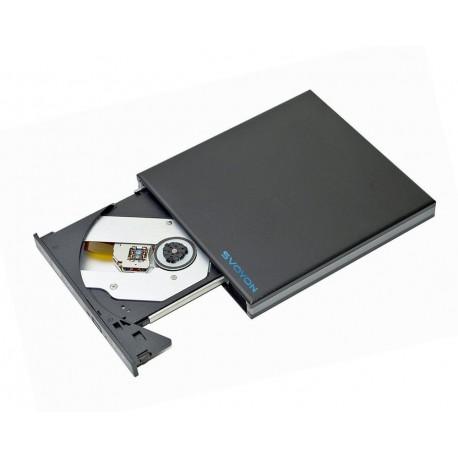 Svoyon Slim Externes USB 3.0 Blu Ray BD Combo Laufwerk für PC / Notebook / Ultrabook