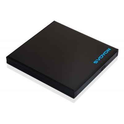 Svoyon USB 3.0 Gehäuse für Slim 12,7mm Blu-Ray/DVD/CD Laufwerke und Brenner mit SATA Anschluss