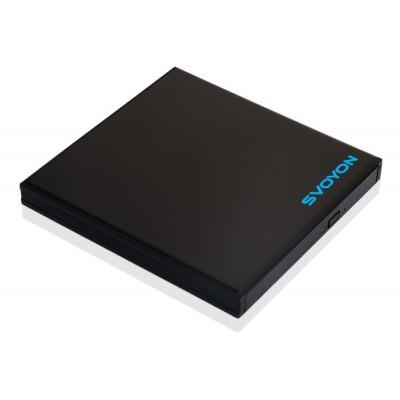 Premium USB 3.0 Gehäuse für 12,7mm Blu-Ray/DVD/CD Laufwerke mit SATA