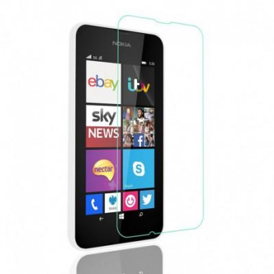[3 Stück] Svoyon Premium Glasfolie für Nokia Lumia 530 Schutzglas 9H Tempered Glass